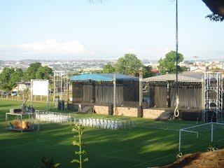 Vista dos palcos